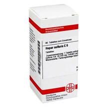 Hepar sulfuris C 6 Tabletten