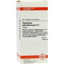 Histaminum hydrochloricum D 12 Tabletten