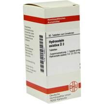 Produktbild Hydrocotyle asiatica D 3 Tabletten