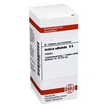 Produktbild Justicia adhatoda D 6 Tabletten
