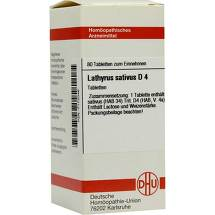Produktbild Lathyrus sativus D 4 Tabletten