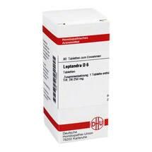 Produktbild Leptandra D 6 Tabletten