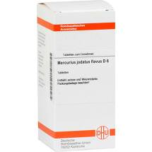 Produktbild Mercurius jodatus flavus D 6 Tabletten