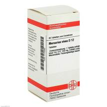 Produktbild Mercurius vivus D 12 Tabletten