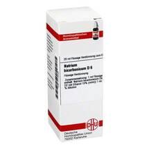 Produktbild Natrium bicarbonicum D 6 Dilution