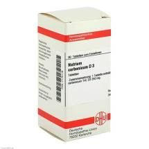 Natrium carbonicum D 3 Tabletten