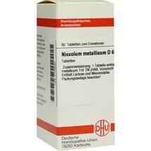 Produktbild Niccolum metallicum D 6 Tabletten