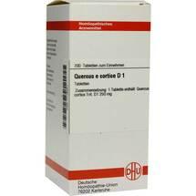 Produktbild Quercus E cortex D 1 Tabletten