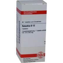 Produktbild Ratanhia D 12 Tabletten