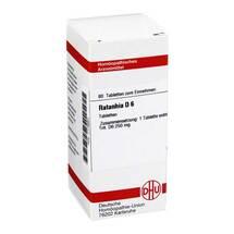 Produktbild Ratanhia D 6 Tabletten