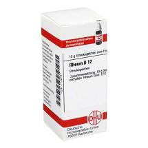 Produktbild Rheum D 12 Globuli