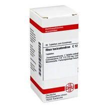 Produktbild Rhus toxicodendron C 12 Tabletten