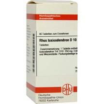 Produktbild Rhus toxicodendron D 10 Tabletten