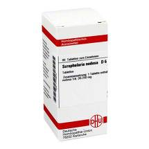 Produktbild Scrophularia nodosa D 6 Tabletten