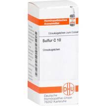 Produktbild Sulfur C 10 Globuli