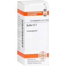 Sulfur C 7 Globuli