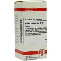 Produktbild Sulfur colloidale D 12 Tabletten