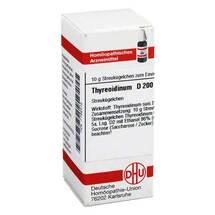 Thyreoidinum D 200 Globuli