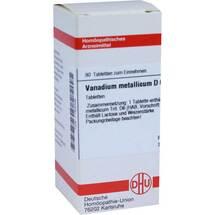 Produktbild Vanadium metallicum D 6 Tabletten