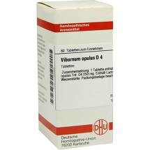 Produktbild Viburnum opulus D 4 Tabletten