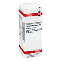 Produktbild Zincum chloratum D 6 Dilution