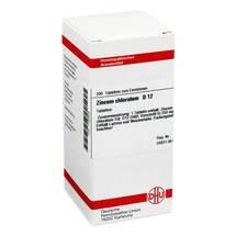 Produktbild Zincum chloratum D 12 Tabletten