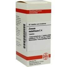 Produktbild Zincum metallicum C 4 Tabletten