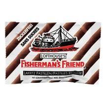 Produktbild Fishermans Friend Lakritz ohne Zucker Pastillen