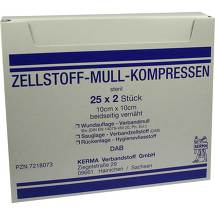 Produktbild Zellstoff Mullkompressen 10c