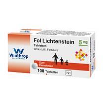 Produktbild Fol Lichtenstein 5 mg Tabletten