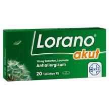 Produktbild Lorano akut Tabletten