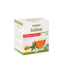 Heisser Salbei + Honig + Vitamin C Pulver
