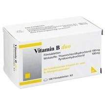 Produktbild Vitamin B Duo Filmtabletten