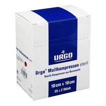 Urgo Mullkompressen 10x10 cm steril