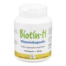 Produktbild Biotin H Vitaminkapseln