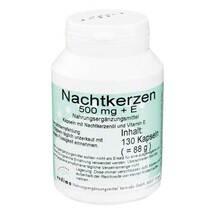 Produktbild Nachtkerzen 500 mg + E Kapseln