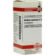 Acidum oxalicum C 30 Globuli