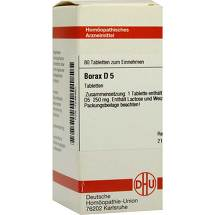 Produktbild Borax D 5 Tabletten
