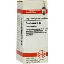 Cantharis D 10 Globuli Erfahrungen teilen