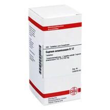 Cuprum arsenicosum D 12 Tabletten