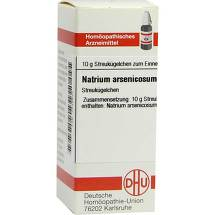 Produktbild Natrium arsenicosum D 12 Globuli
