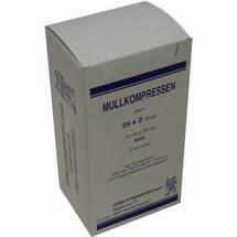 Produktbild Mullkompressen 10x20 cm steril 12-fach BW