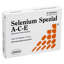 Produktbild Selenium Spezial ACE Tabletten