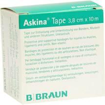 Produktbild Askina Tape Pflaster 10mx3,8cm weiß unelastisch