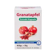 Produktbild Granatapfel Extrakt Kapseln
