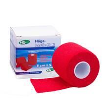 Produktbild Höga Lastic Haft Binde 6cmx5m rot
