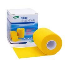 Produktbild Höga Lastic Haft Binde 8cmx5m gelb