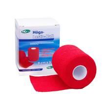 Produktbild Höga Lastic Haft Binde 8cmx5m rot