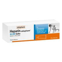 Produktbild Heparin Ratiopharm 30.000 Salbe