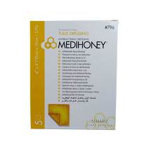 Produktbild Medihoney Antibakterieller Tüllverband 10x10cm
